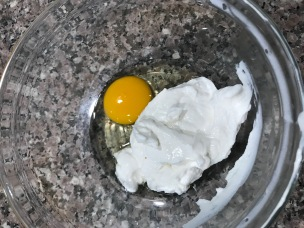 egg and yogurt